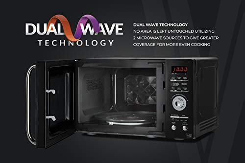 419ARRUJdfL - Tower KOR9GQRT Digital Microwave with 5 Pre-set Autocook Functions, Defrost Function, 900 W, 26 Litre Black