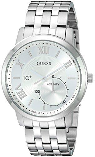 GUESS Jax Mens Active Plata reloj inteligente - Relojes inteligentes (8760 h, Plata)