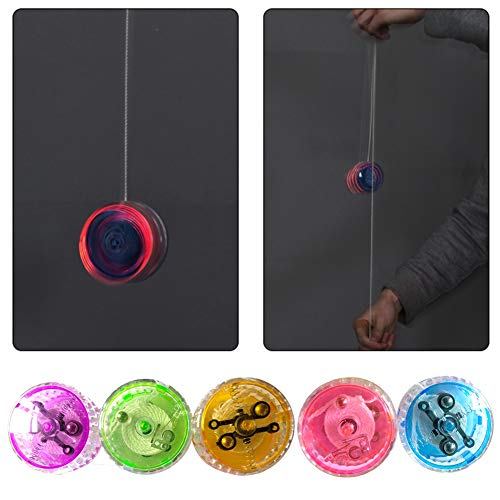 Brave669 Toys for Children Fashion &Luminous LED Light YoYo Ball Toy High Speed Kids String Control Entertainment, Best Gift for Child