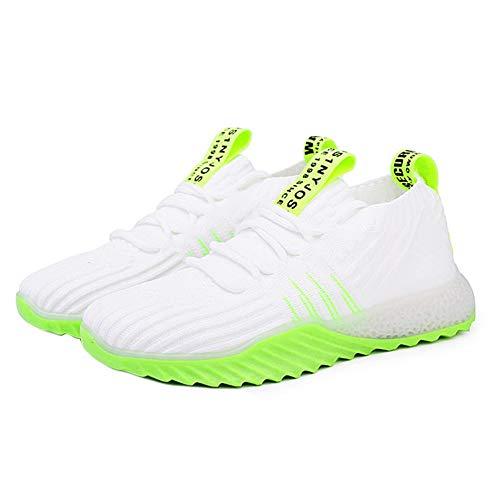 Zapatillas Deportivas para Mujer Zapatillas Suaves Zapatillas Deportivas Transpirables Suela Plana con Cordones Air Mesh