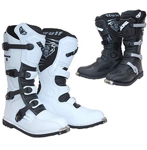 Rose EU22 Wulfsport Enfants Boue Stomper Junior Motocross Wellington Bottes Pluie Chaussures