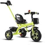 LYP Triciclo Bebé Trolley Trike Cómodos cochecitos Trolley Triciclo carruaje Bicicleta Bicicleta niño Ruedas Doble Freno Bicicleta 3 Ruedas (niño/niña, 2-6 años) Bicicleta (Color : #2)