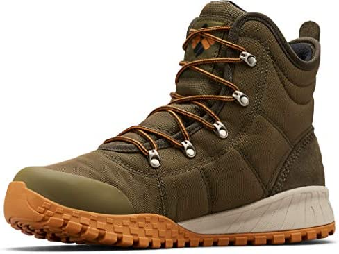 Columbia Men s Fairbanks Omni Heat Snow Boot nori Canyon Gold 10 product image