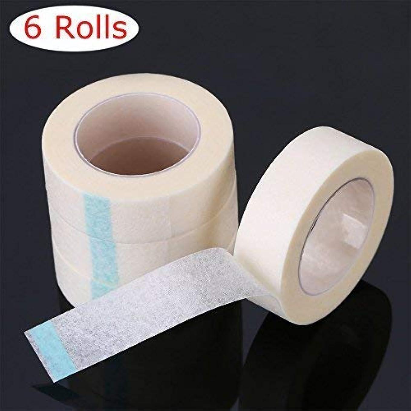 略す実験ホストATOMUS 6個 まつげテープ, まつげエクステ 下まつげ 保護テープ, 医療用テープまつげ拡張子, 低刺激 まつげエクステテープ