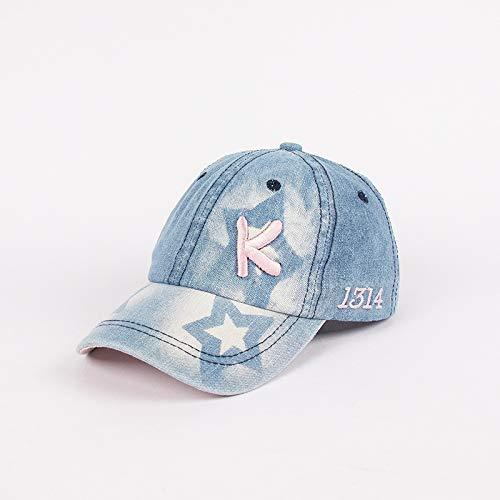 Sombrero para nios Nueva Tendencia Alfabeto Coreano Vaquero Hip-Hop nio nia Gorra de bisbol Hip-Hop Sombrero de beb Digital