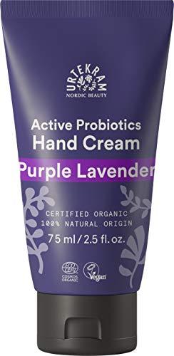Urtekram Purple Lavender Handcreme Bio, feuchtigkeitsspendend und Balance, 75 ml