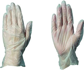ハクゾウプラスチックグローブMFPF L(80マイ) ハクゾウメディカル