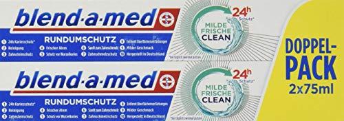 Blend-a-med Rundumschutz Milde Frische Clean Zahnpasta (1 x 150 ml)