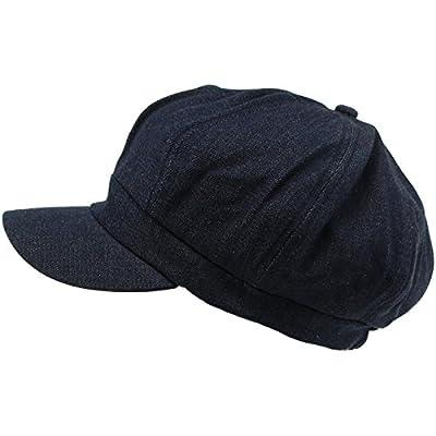 SK Hat shop Summer 100% Cotton Plain Blank 8 Panel Newsboy Gatsby Apple Cabbie Cap Hat