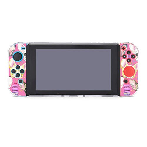 Animal Dog French Bulldog (2) Dockable Protective Case Cover for Nintendo Switch Compatible with Nintendo Switch Console and Joy-Con Controller
