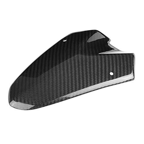 Cubierta del parabrisas de fibra de carbono, cubierta del deflector del parabrisas Cubierta del faro del parabrisas de fibra de carbono Cubierta de la motocicleta del parabrisas de la