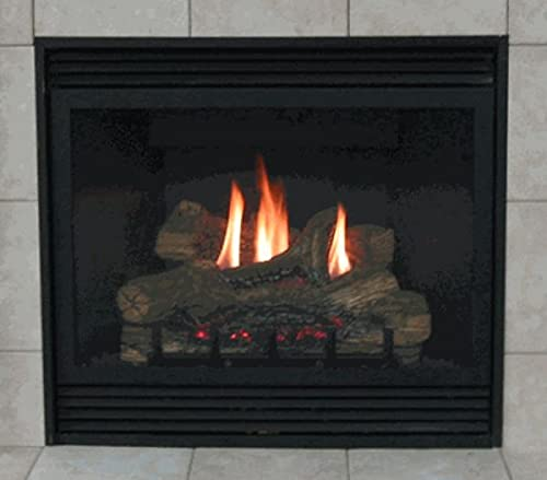Deluxe 42' Direct-Vent NG Millivolt Fireplace