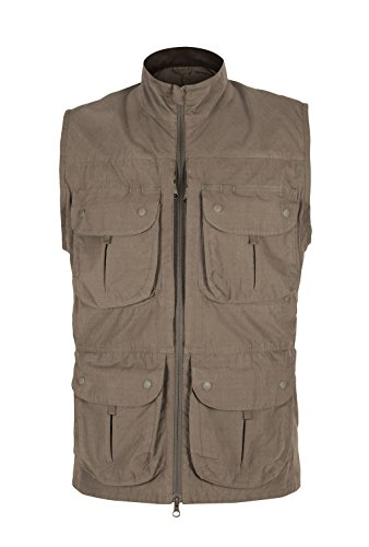 Paramo Directional Clothing Systems–Giacca Gilet Gilet Gilet, Uomo, Halcon Waistcoat, Fossil, XS
