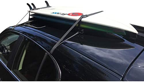 Cor Surf Universal Surfboard Car Soft Roof Rack Pad For Surf And Paddleboards With Storage Bag 19 Inches Auto