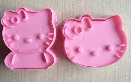 DM Hello Kitty Cookie Cutter Cake Mould Mold-Pink, M