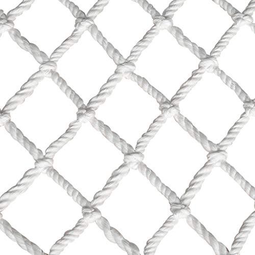 NiUFHW Beschermnet nylon kabelnet, constructie, veiligheidsnet, kindertrap, balkon, anti-valnet, bewaarplaats, isolatienet, heknet, anti-kattennet, decoratief net