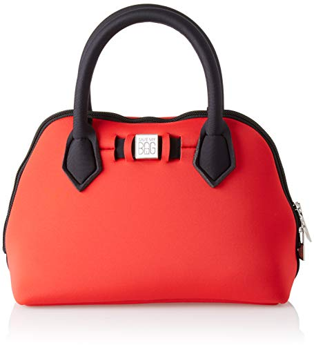 save my bag Princess Mini, Borsa a mano Donna, Rosso/Red Cobalt, 25x19x12 cm (W x H x L)