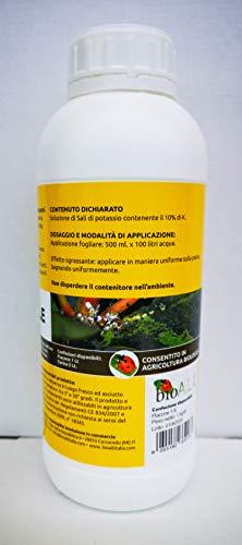bio A.L.T Sapone Molle di Potassio Insetticida Naturale Corroborante Potenzia Le Difese Naturali delle Piante Contro Afidi Acari Cocciniglia per Orto Fiori Rose Piante Verdi Aromatiche Frutta