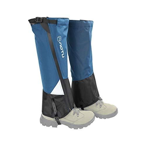 Novalight Ochraniacze na nogi, wodoodporne odporne na rozdarcia wodoodporne getry na śnieg i buty, oddychające getry dla mężczyzn i kobiet, regulowane ochraniacze na śnieg na polowanie, narciarstwo, bieganie