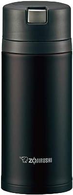 ZOJIRUSHI SM-XB36-TD Quick Open Vacuum Insulated Stainless Steel Mug 360 ml, Dark Cocoa