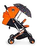 Cosatto Woosh 2 Cochecito en Spaceman con sombrilla y protector de lluvia desde el nacimiento hasta 25 kg