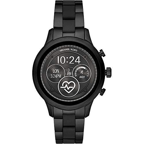 Michael Kors Runway -Gen 4 Smartwatch touchscreen con cinturino in acciaio...