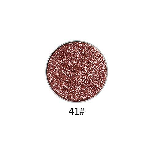 ReooLy 45 Farben Schimmer Glitter Lidschatten Pulver Palette Matte Lidschatten Kosmetik Make-up