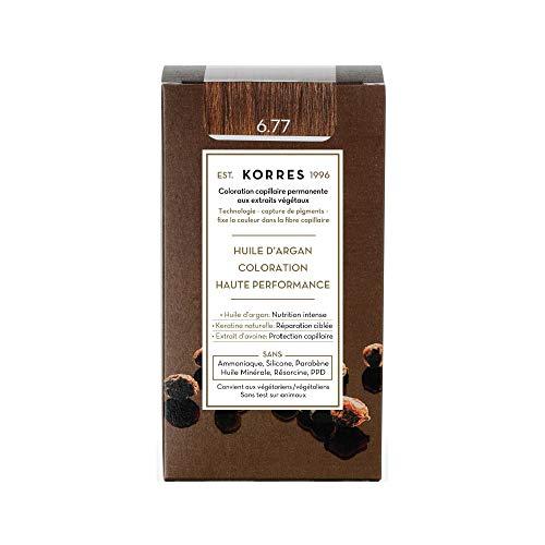 Korres Argan Öl hochentwickelte Coloration gianduja 6.77,1er Pack (1 x 145 ml)