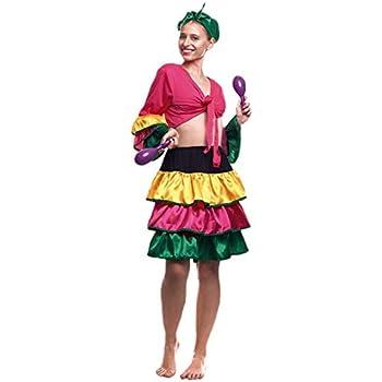 Disfraz Brasileña Mujer (Talla S) (+ Tallas) Carnaval Mundo ...
