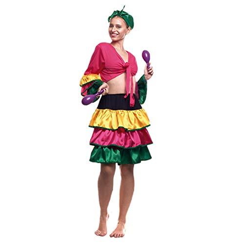 Disfraz Brasileña Mujer (Talla M) (+ Tallas) Carnaval Mundo