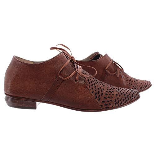 IXOS Damen Schuhe Splonge Braun Leder Made In Italy Neu