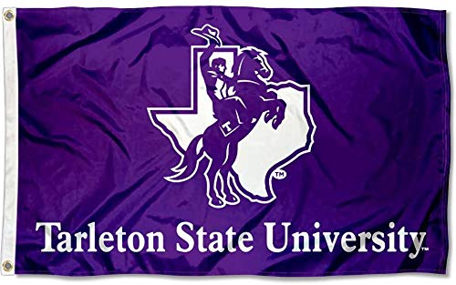 Tarleton State University Logo Flag 3x5