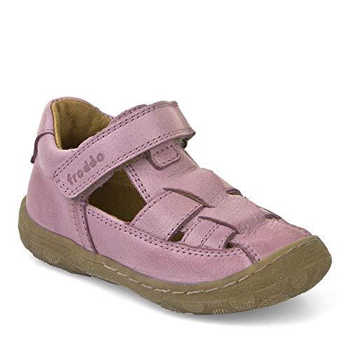 Froddo Schuhe Geschlossene Sandalen Kinderschuhe aus Leder Schmal (Pink, 22)