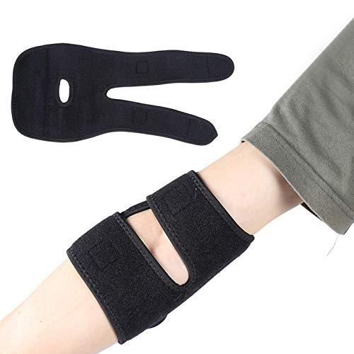 Protector de codo, protector de codo deportivo, brazo de fitness, articulación, esguince, brazalete, soporte de resorte, almohadilla para el codo, equipo de protección para baloncesto, bádminton, teni