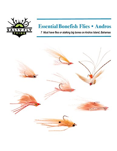 Essential Bonefish Flies - Andros: A guide to tying the 7 must have flies for Andros Island, Bahamas