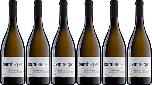 Wein- und Sektgut Bamberger Rheingrafenberg Weißburgunder 2018 Trocken (6 x 0.75 l)