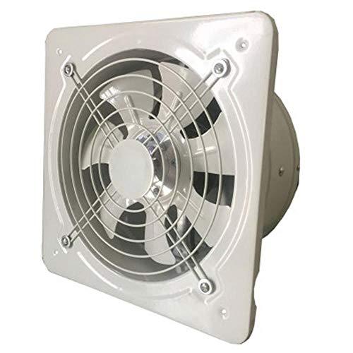 JJZZ Ventilazione industriale Cucina Wc Ventilatori di scarico Estrattore di metallo Scarico commerciale Ventilatore commerciale Ventilatore assiale 4'6' 7'8' 10', 4 pollici