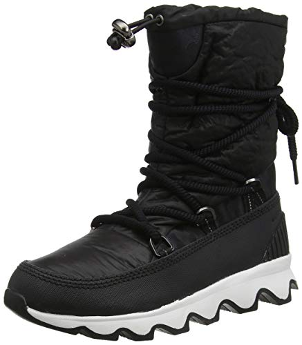 Sorel Damen Stiefel, KINETIC BOOT, Schwarz (Black, White), Größe: 38,5