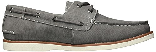 Unlisted by Kenneth Cole Men's Unlisted Santon Boat Shoe, Grey, 10.5 M US