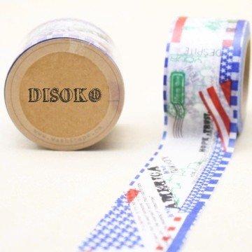 disok–Nastro adesivo Washi Tape 30mm x 10metri DS-101