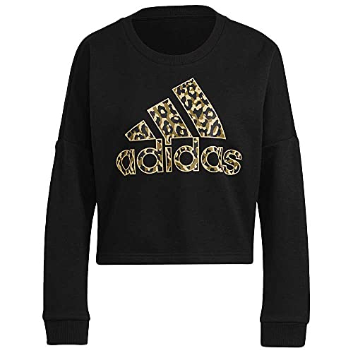 adidas GL6836 W Leo G Swt Pullover Donna Black M