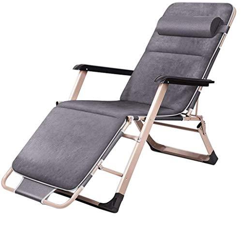 FHISD Klappbarer Schwerelosigkeitsstuhl Liegestuhl Sun Lounge Chair, verstellbar 3 Gänge,Atmungsaktiver und bequemer Stoff,Patio-Rasen-Poolstuhl mit Armlehnen, Unte
