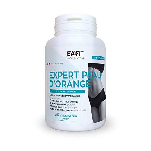 EAFIT EXPERT PEAU D'ORANGE 60 GÉLULES - Anti cellulite - Contre la peau d'orange - Action ciblée contre la cellulite et les capitons - Marque Française