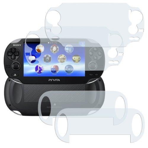 mumbi Schutzfolie kompatibel mit Sony Playstation Vita Folie klar, Displayschutzfolie (4X)