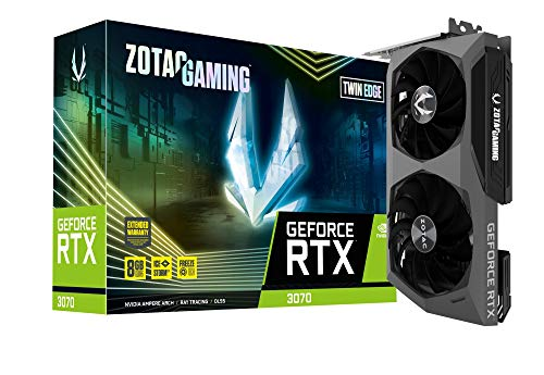 ZOTAC GAMING GeForce RTX 3070 Twin Edge グラフィックスボード ZT-A30700E-10P VD7351