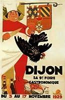 ERZAN大人の子供のおもちゃ1900のフランスのディジョンsa 9ホエール食物とワイン広告芸術創造的なギフト300ピース ジグソーパズル