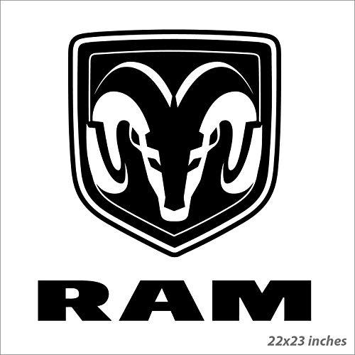 Dodge Ram Logo Truck Gutz Glory Wall Art Sticker Decal 02 FRST