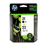 HP 21/22 Combo-Pack Inkjet Print Cartridges 21/22 Combo-Pack Inkjet Print Cartridges, 5-95%, 15-35 °C, 5-95%