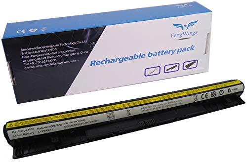 FengWings® 14.4V 3500mAh L12L4E01 L12S4E01 L12L4A02 L12M4A02 L12M4E01 L12S4A02 Laptop Akku für Lenovo G400s G410s G500s G510s G40 G50 Z40-70 Z50 Z710 G500s Z50-70