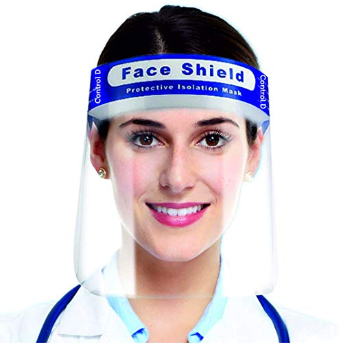 Control D Eyes Nose Full Frontal 4 Protection Isolation Fac